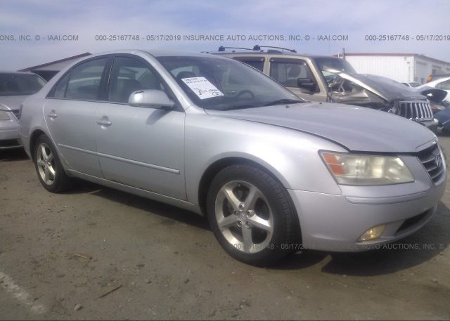 Inventory #832700161 2009 Hyundai SONATA