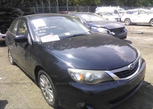 Inventory #370780160 2009 Subaru IMPREZA