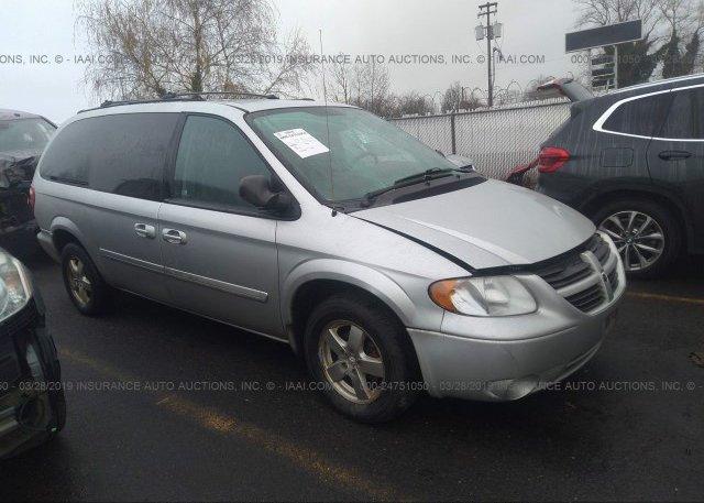 Inventory #992871289 2006 Dodge GRAND CARAVAN