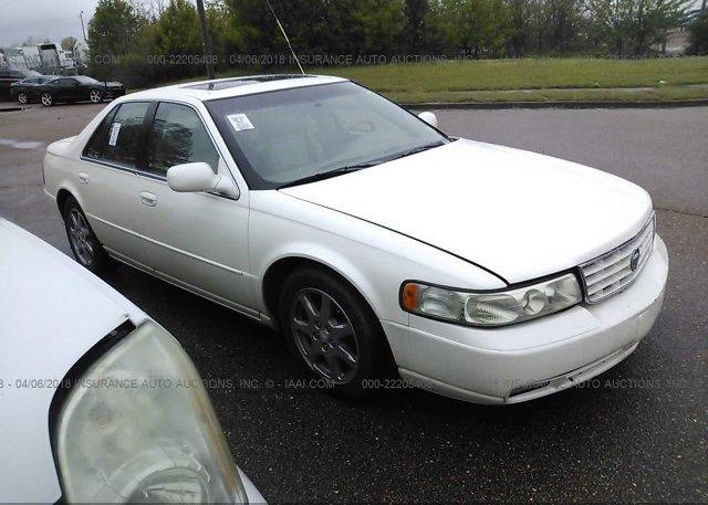 1g6ky54921u129457 Clear Cream Cadillac Seville At Memphis Tn On