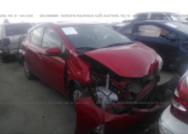 Inventory #458302411 2013 Toyota PRIUS C