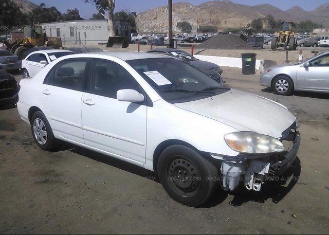 Inventory #124228448 2005 Toyota COROLLA