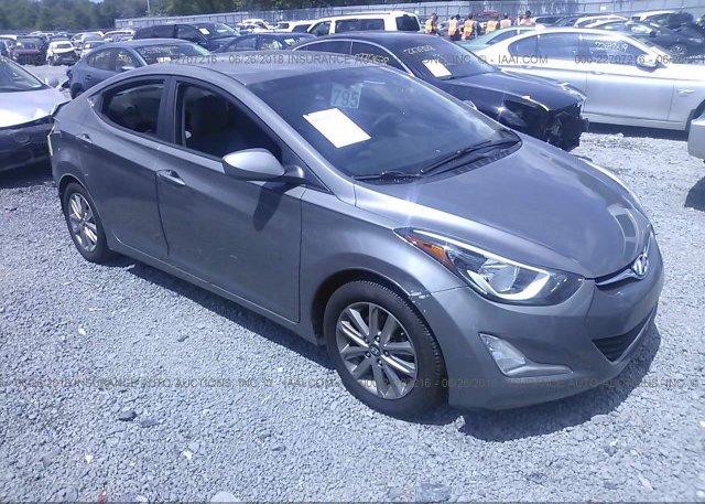 Inventory #633508168 2014 Hyundai ELANTRA
