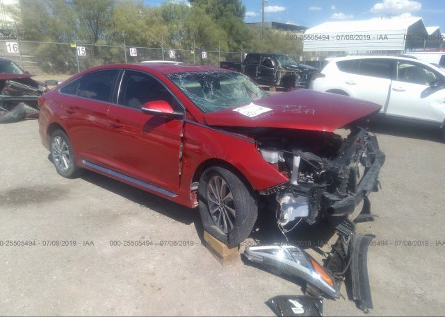 Inventory #444129843 2017 Hyundai SONATA