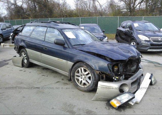 Inventory #435381562 2002 Subaru LEGACY
