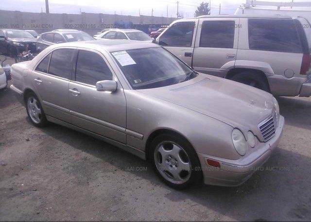 Inventory #376124334 2001 Mercedes-benz E