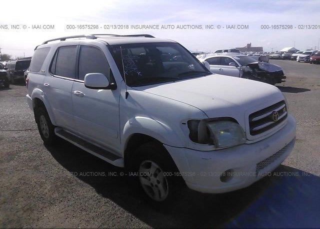Inventory #551742463 2001 Toyota SEQUOIA