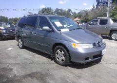 2000 Honda ODYSSEY - 2HKRL1865YH000832 Left View