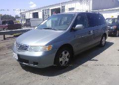 2000 Honda ODYSSEY - 2HKRL1865YH000832 Right View