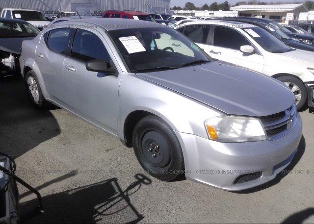 Inventory #143591686 2012 Dodge AVENGER