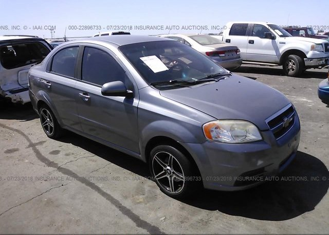 Kl1td56637b043635 Clear Dealer Only Gray Chevrolet Aveo At