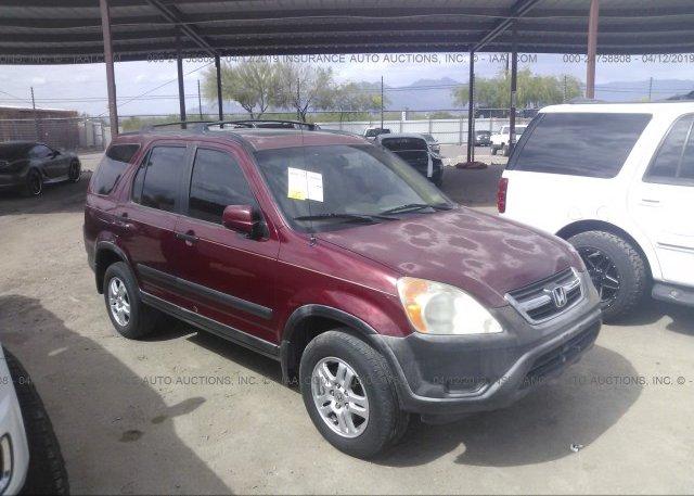 Inventory #682402800 2002 Honda CR-V