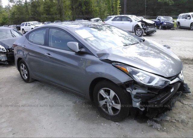 Inventory #764392161 2014 Hyundai ELANTRA