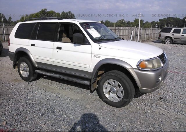 Inventory #523265060 2002 Mitsubishi MONTERO