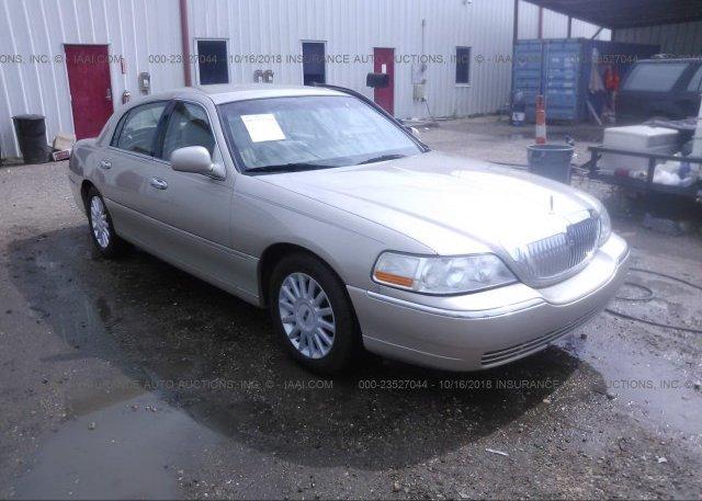 1lnlm81w3ty680965 Non Repairable Green Lincoln Town Car At
