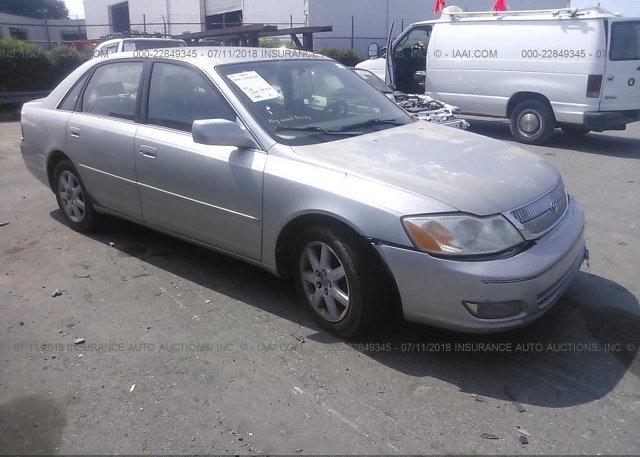 Inventory #500514164 2001 Toyota AVALON