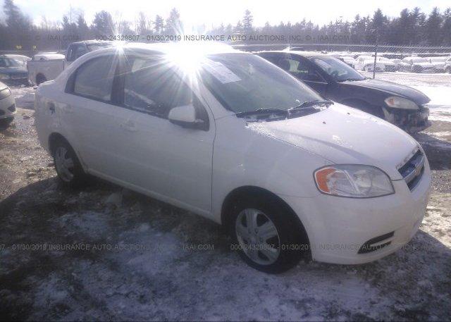 Inventory #529513105 2010 Chevrolet AVEO