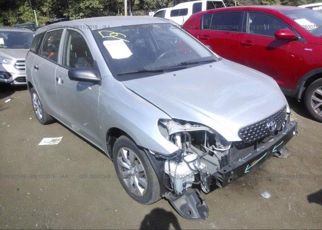 Inventory #587664993 2003 Toyota COROLLA MATRIX