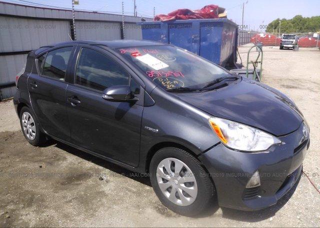 Inventory #624464532 2014 Toyota PRIUS C