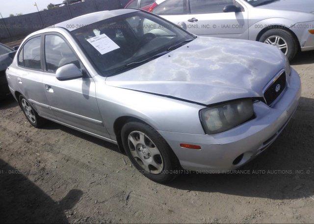 Inventory #806386362 2003 Hyundai ELANTRA