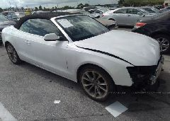 2014 AUDI A5 - WAUAFAFH5EN008141 Left View
