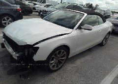 2014 AUDI A5 - WAUAFAFH5EN008141 Right View