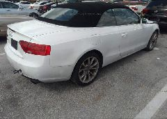 2014 AUDI A5 - WAUAFAFH5EN008141 rear view