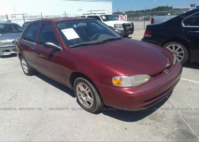 Inventory #821812224 2000 Chevrolet GEO PRIZM