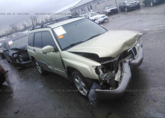 Inventory #686603556 2002 Subaru FORESTER