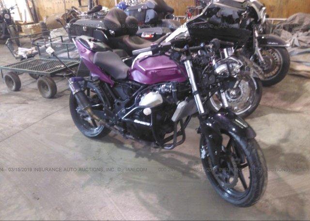 Inventory #961697097 2012 Kawasaki EX250