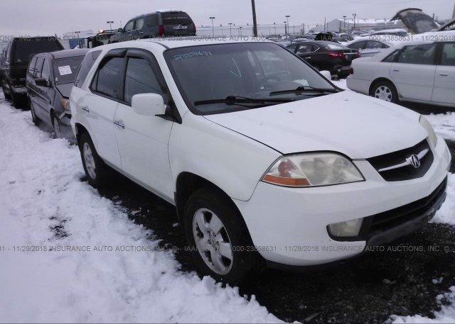 Inventory #720525119 2003 Acura MDX