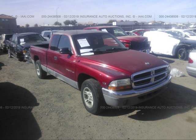 Inventory #734123017 1998 Dodge DAKOTA