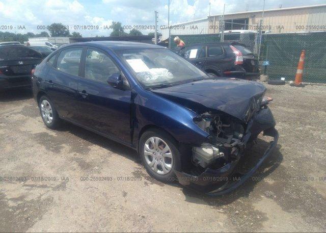 Inventory #351114510 2010 Hyundai ELANTRA