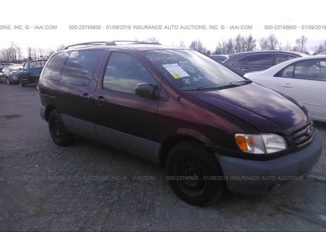 Inventory #710640666 2003 Toyota SIENNA