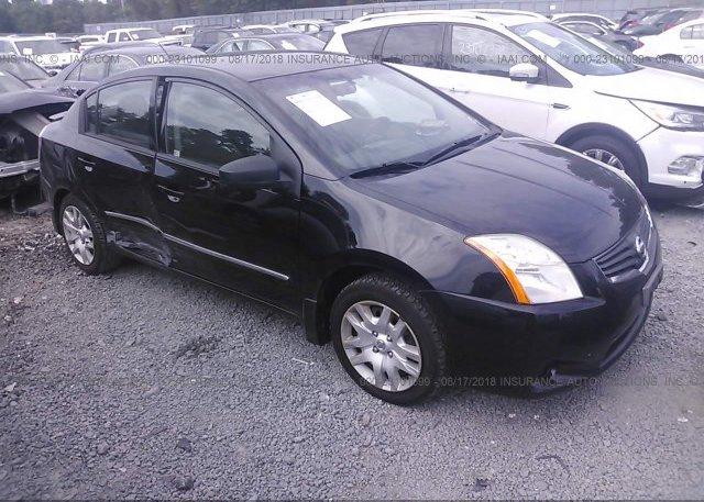 3n1ab6ap2bl636554 Salvage Black Nissan Sentra At Morganville Nj On