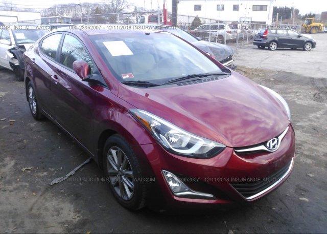 Inventory #675932935 2015 Hyundai ELANTRA