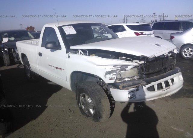 Inventory #860011880 1998 Dodge DAKOTA