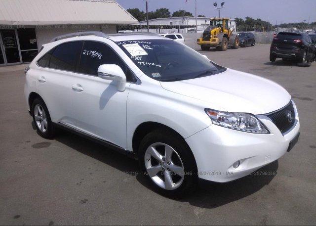 Inventory #319685538 2010 Lexus RX