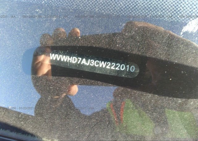WVWHD7AJ3CW222010 2012 VOLKSWAGEN GTI