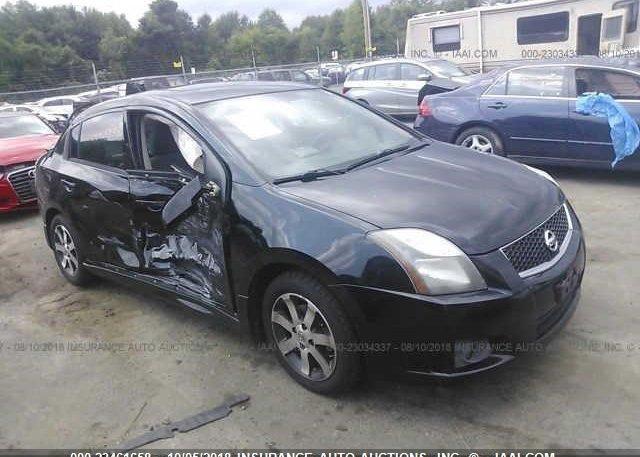 3n1ab6ap6bl726077 Salvage Black Nissan Sentra At East Windsor Ct