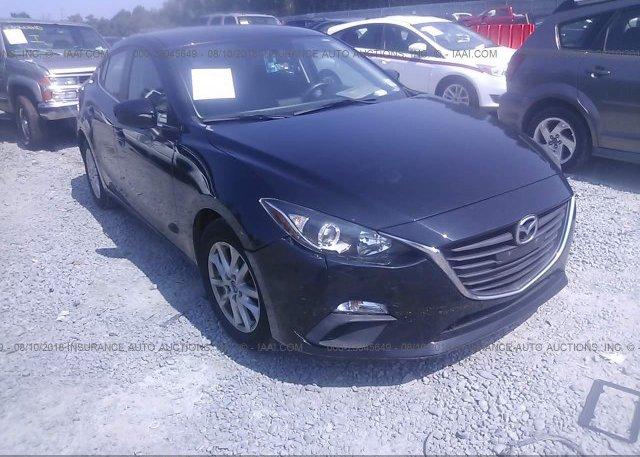 Jm1bm1v78e1135334 Salvage Black Mazda 3 At Morganville Nj On