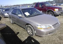 1999 Honda ACCORD - 1HGCG5649XA037781 Left View