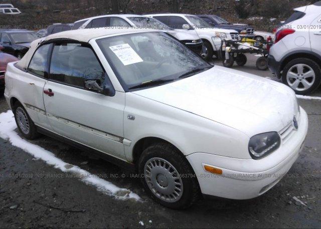 Inventory #734529739 2001 Volkswagen CABRIO