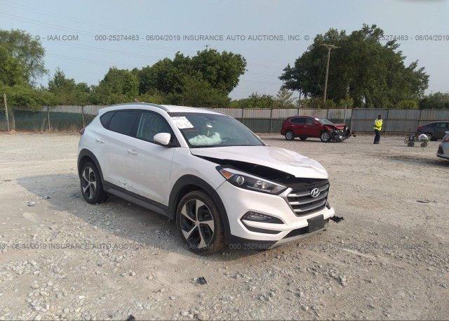 Tucson Car Auction >> Km8j33a21hu363341 Salvage White Hyundai Tucson At Columbus Oh On