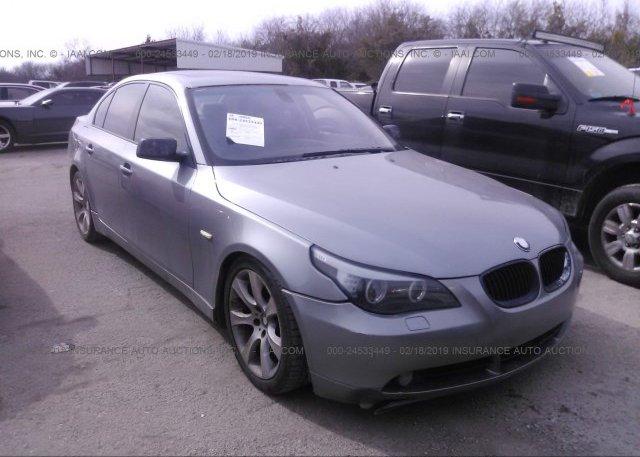 Inventory #525030068 2004 BMW 545