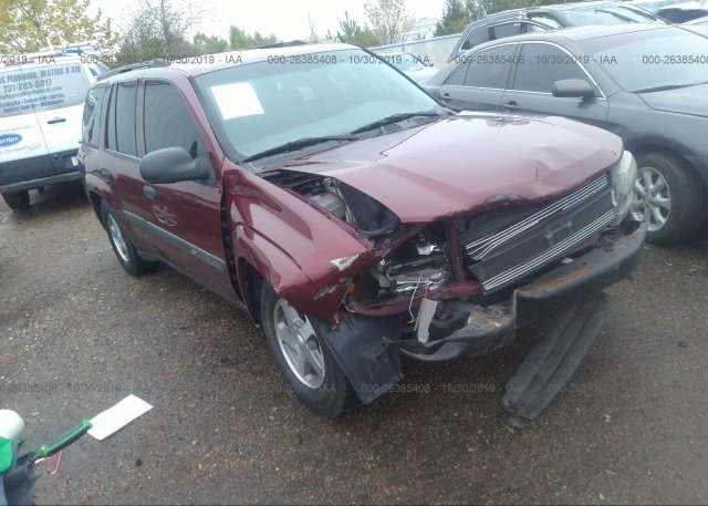 Inventory #714502632 2004 Chevrolet TRAILBLAZER