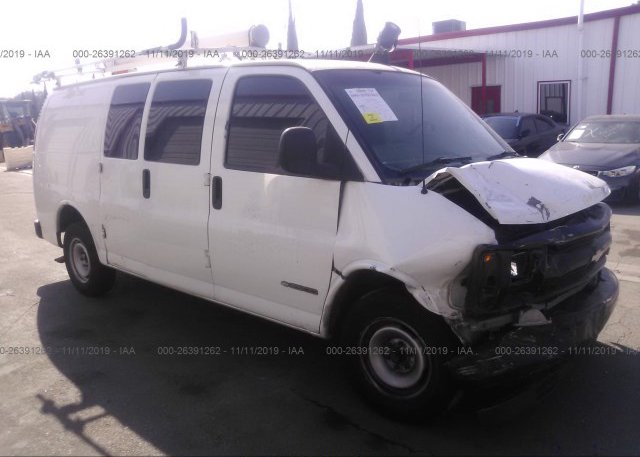 Inventory #727048681 2001 Chevrolet EXPRESS G2500