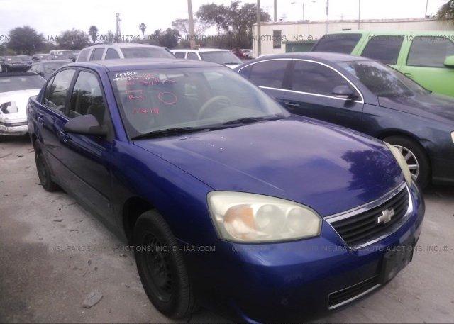 Inventory #804419697 2007 Chevrolet MALIBU