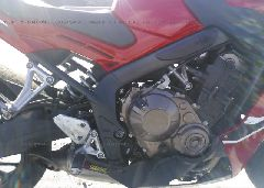 2018 Honda CBR650 - MLHRC7457J5400023 front view