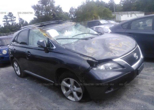Inventory #915457016 2010 Lexus RX